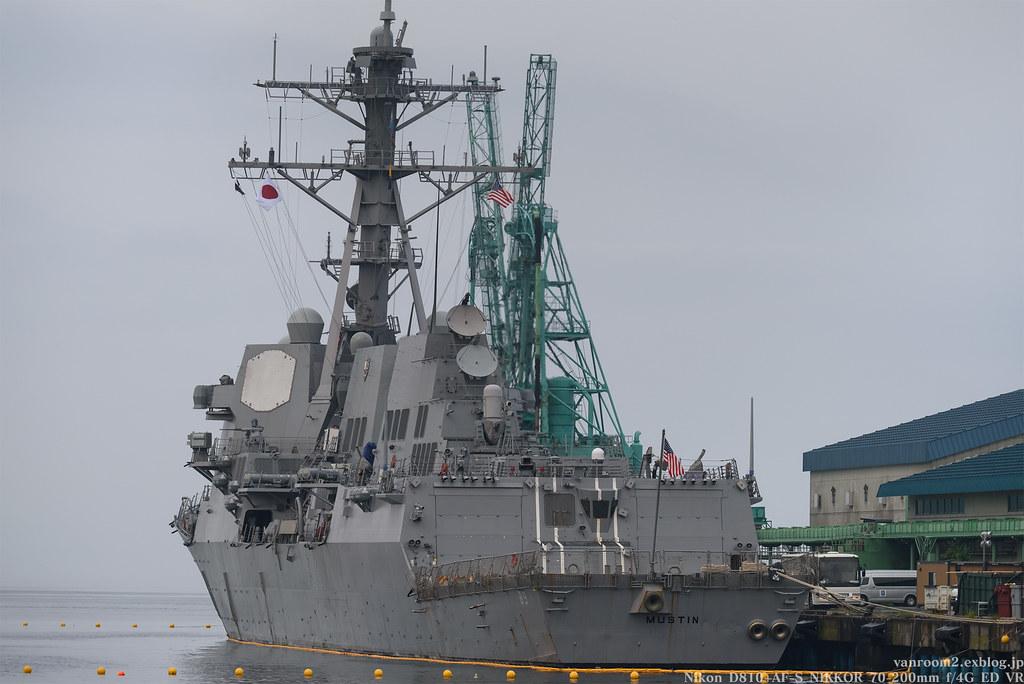 米海軍ミサイル駆逐艦「マスティン」