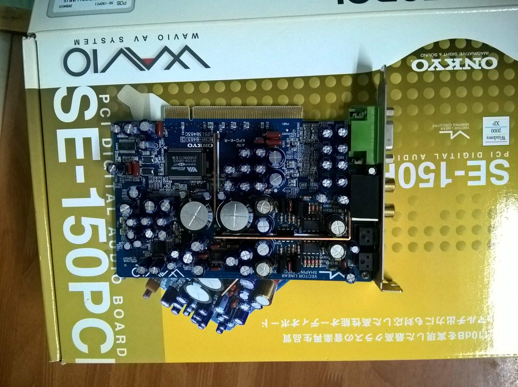 Onkyo từ Japan - U55SX, U55SX2, 200PCI LTD, 200PCI, 150PCI, 90PCI - 10