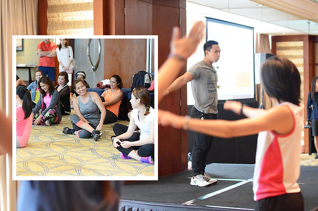 Patty Villegas - Global Wellness Day - 2017 - Paradise Within - Makati Shangrila - EJ Barcenas - CrossFit Salcedo