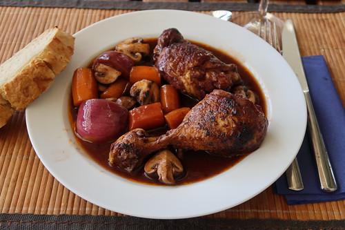 Coq au vin (Teller)