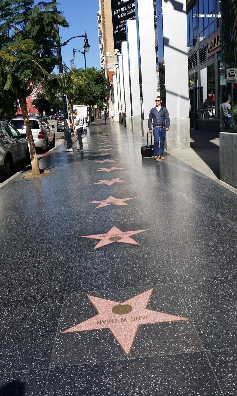 Hollywood Walk of Fame, Los Angeles, Kalifornia, USA