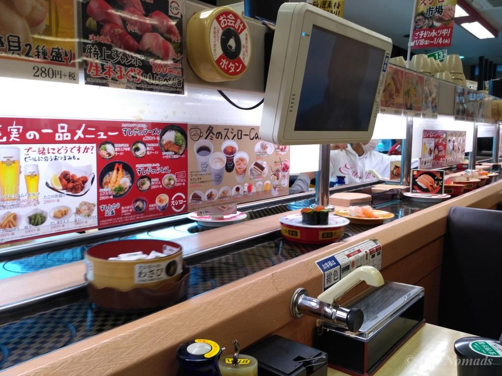 belt sushi japan