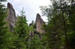 Broumov Rock Walls
