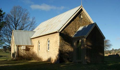 St. David's Presbyterian Church, Moorilda, NSW. 2877