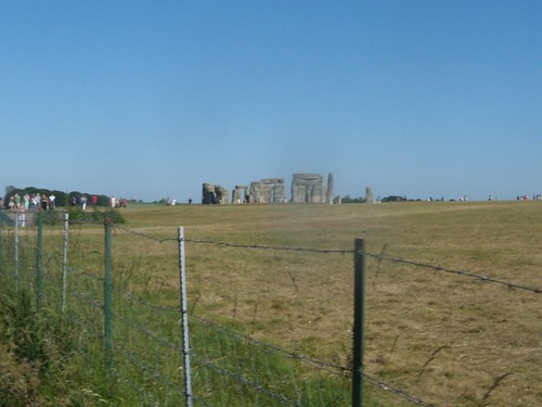 Stonehenge from the road