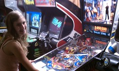 pinball(1.0), arcade game(1.0), recreation(1.0), games(1.0),