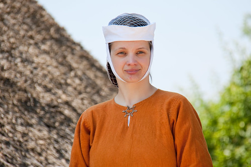 young 13th century woman