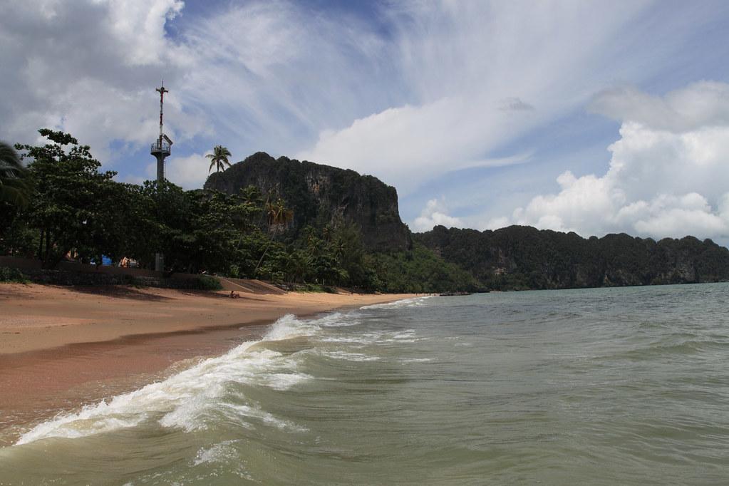 пляж ао-нанг краби