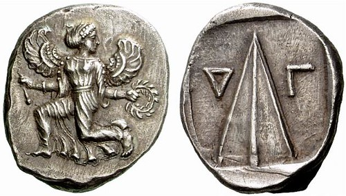A Rare Greek Silver Stater of Caunus (Caria), the Finest Known Specimen by Far
