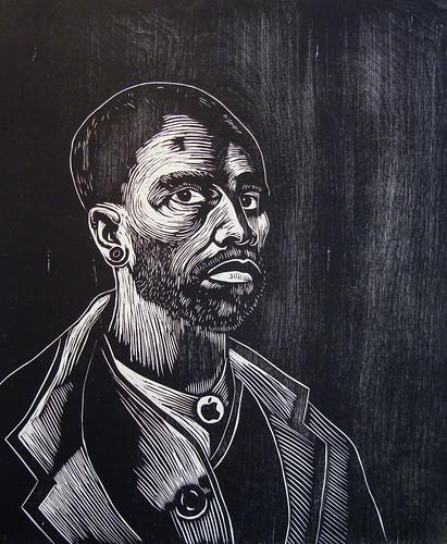 Self-Portrait after Van Gogh