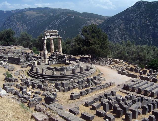 The Santuary of Athena Pronaia, Delphi