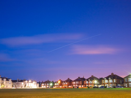 ISS over Tynemouth