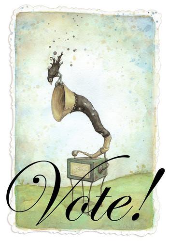 Vote, vote, vote! by leontine