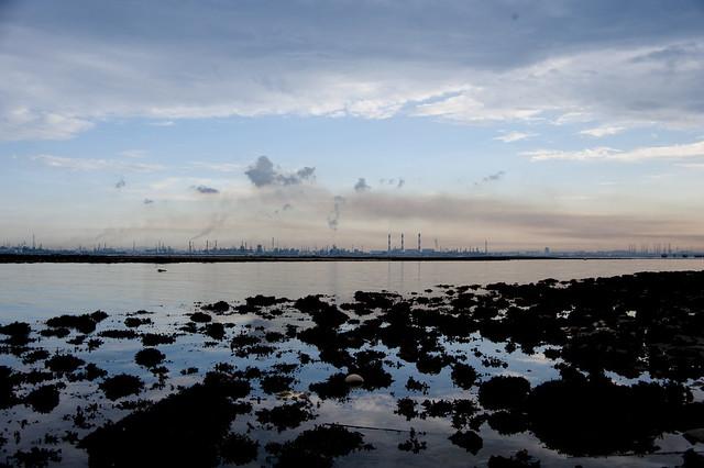 Jurong Island from Terumbu Pempang Darat