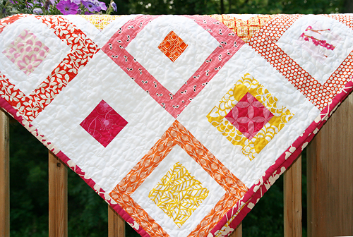 Quilt Patterns From Squares : QUILT PATTERNS USING SQUARES Free Patterns