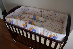 changing table(0.0), studio couch(0.0), textile(1.0), furniture(1.0), room(1.0), infant bed(1.0), bed sheet(1.0), bed(1.0), baby products(1.0),