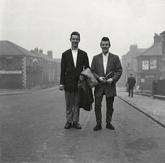 Gloucester Street, 1957, Ticket men, by Jimmy Forsyth