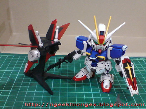Exhibition Stand Gimmicks : Ngee khiong ex bb senshi force impulse gundam part final