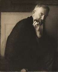 The Photographer's Best Model - George Bernard Shaw, by Edward Steichen 1913