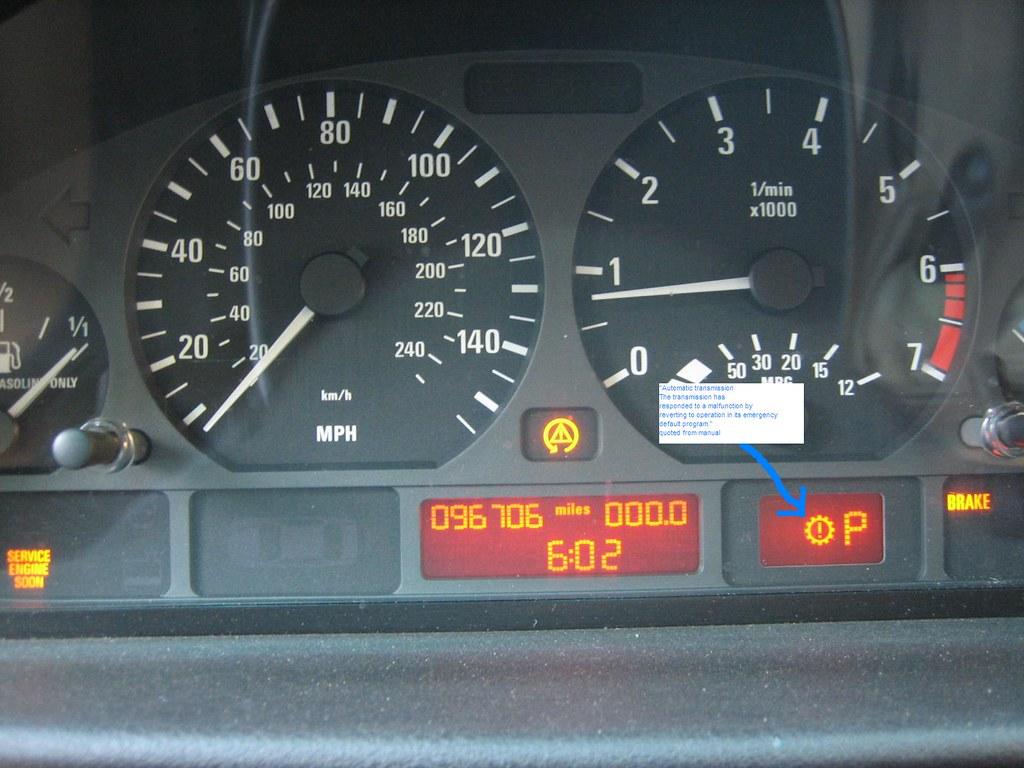 Auto Transmission Warning Light Plus Ses Plus Brake Light