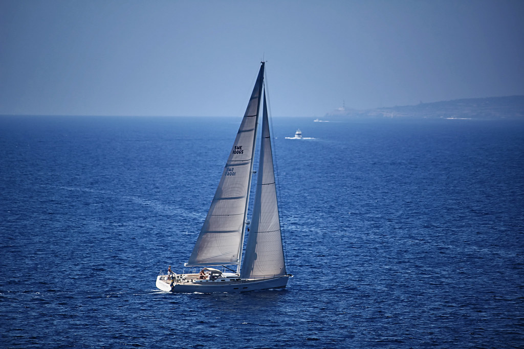 Sailing, Mediterranean Sea, Mallorca, Spain