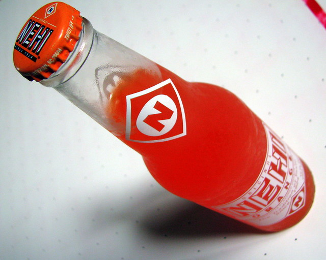 Nehi Orange bottle
