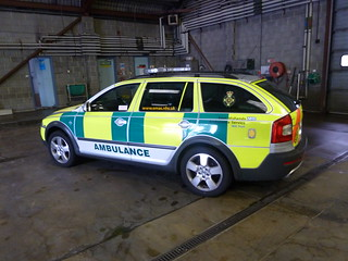 East Midlands Ambulance Service Skoda FRV