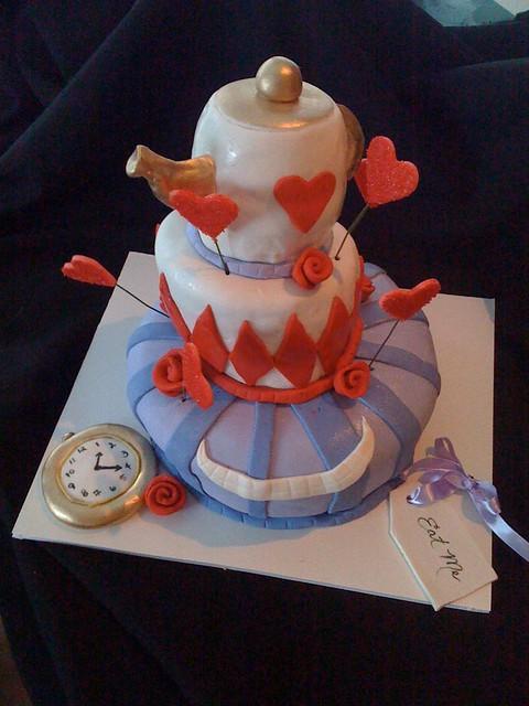 alice in wonderland baby shower cake flickr photo sharing
