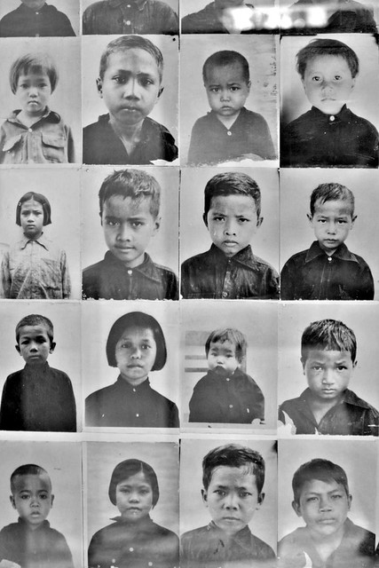 Children victims at Tuol Sleng, S-21