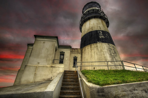 Cape Disappointment Lighthouse - Ilwaco Washington 2 - HDR