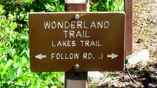Wonderland Trail speed hike