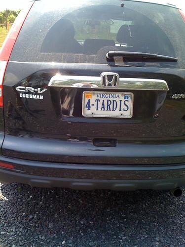 4 Tardis Plate