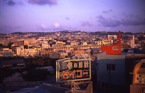 Downtown Naha, June 1967