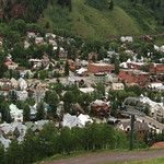 Hike from Top of Telluride Ski Resort Down to Telluride, Colorado