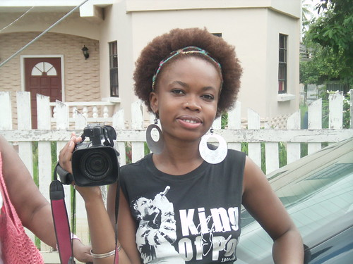 Damali Shooting Her Doc in Guyana