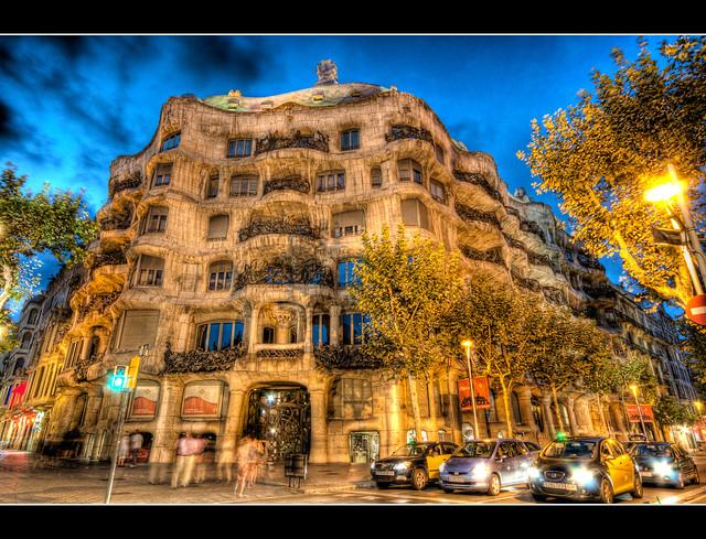 Casa Mila, La Pedrera, Barcelona