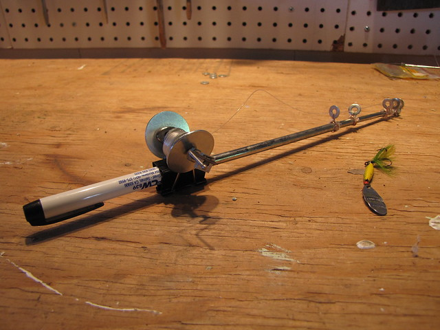 how to make a homemade fishing rod