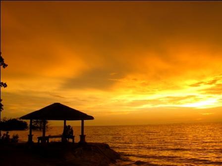 sunset landscape golden scenery muar tanjungemas tanjungketapang goldensunday bandarmaharani
