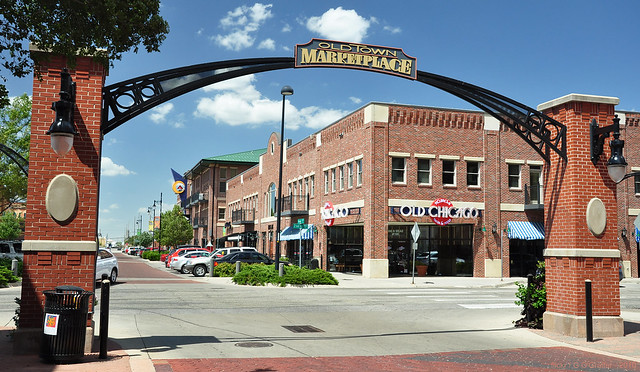 Old Town Marketplace - Wichita, Kansas | Flickr - Photo ... Y Intersection Sign
