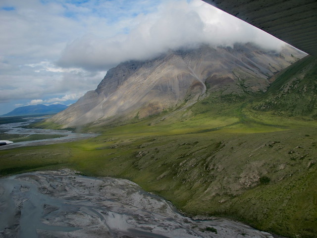 Cloudy Mountains in the Brooks Range