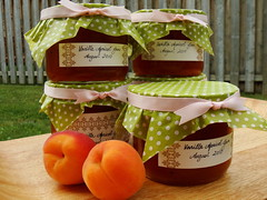 Apricot Vanilla Jam, Packaged