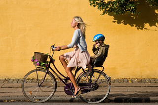 Copenhagen Bicycle Against Yellow Wall 11