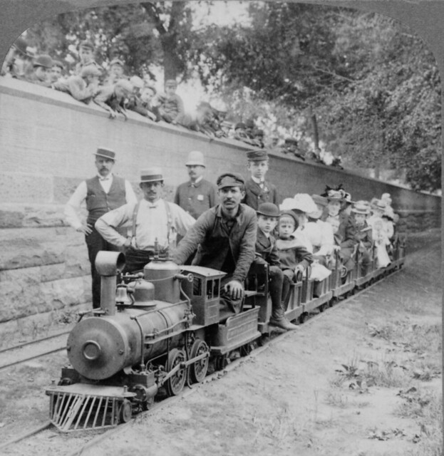 Gilded Age miniature railroad, 1904