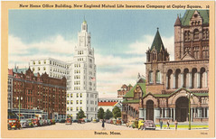 New Home Office Building, New England Mutual Life Insurance Company at Copley Square, Boston, Mass. [front]