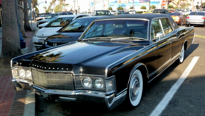 1969 lincoln continental sedan joe wolf flickr