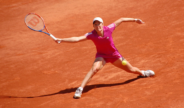 Henin at Roland Garros 2010