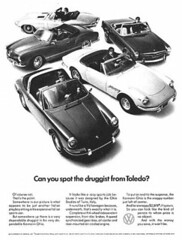 Cool VW Print Advertising, Early 1960s