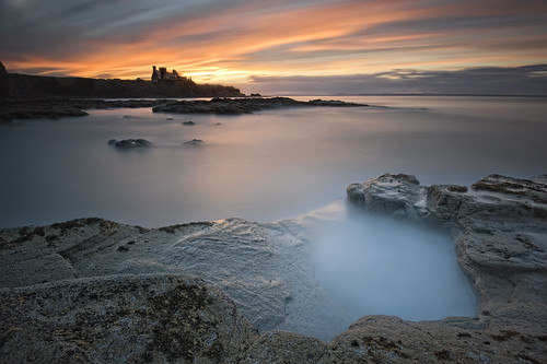 Tantallon Castle Sunset
