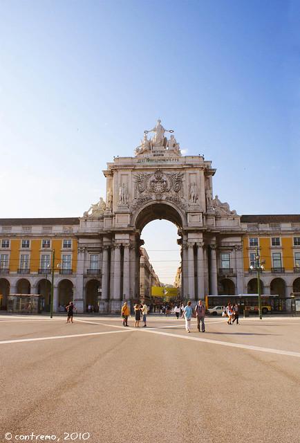Praça do Comercio (Lisboa, Portugal)