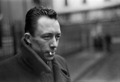 Albert Camus, Paris 1944, by Henri Cartier Bresson